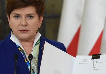 """Rząd przyjął projekt programu """"Rodzina 500 plus"""". Szydło: Dotrzymałam danego słowa"""