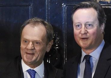 Donald Tusk ogłosi we wtorek propozycję porozumienia UE z Wielką Brytanią