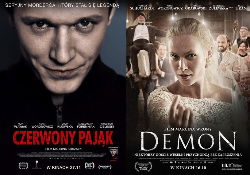 """Filmy """"Czerwony Pająk"""" Marcina Koszałki oraz """"Demon"""" Marcina Wrony znalazły się w finałowej siódemce prestiżowego konkursu Stowarzyszenia Autorów Zdjęć Filmowych PSC 2016. Wręczenie nagrody nastąpi na uroczystej gali, która odbędzie się 27 lutego 2016 roku."""