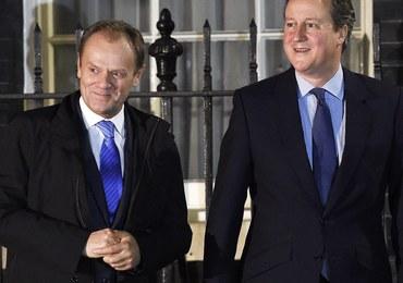 Po spotkaniu Tusk-Cameron: Im dłuższy pobyt imigranta na Wyspach, tym większe szanse na zasiłek