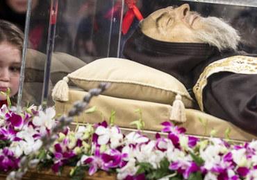 Szczątki św. ojca Pio w Rzymie. Po raz pierwszy opuściły ośrodek kultu w San Giovanni Rotondo