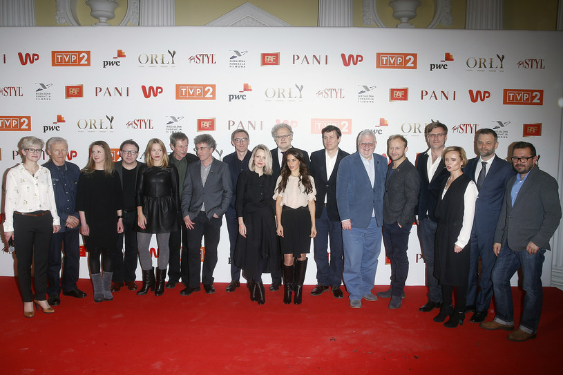 """W czwartek, 4 lutego, w Pałacu Prymasowskim w Warszawie zostały ogłoszone nominacje do Polskich Nagród Filmowych Orły 2016, nazywanych """"polskimi Oscarami""""."""