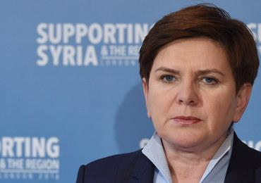 Premier Szydło: Katastrofa smoleńska powinna być wreszcie wyjaśniona