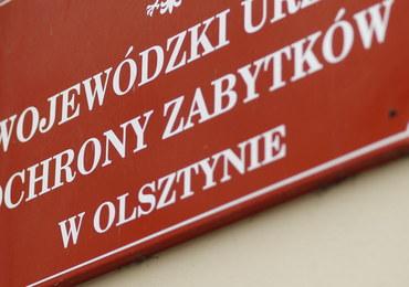 Wojewódzka Konserwator Zabytków w Olsztynie zatrzymana przez CBA