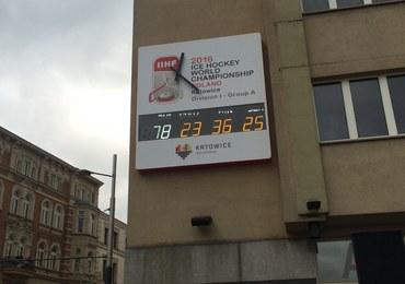 """Hokejowe MŚ w Spodku: W Katowicach wystartował """"mistrzowski"""" zegar!"""