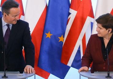 """Szydło przed spotkaniem z Cameronem: Pewne tematy """"wymagają negocjacji"""""""