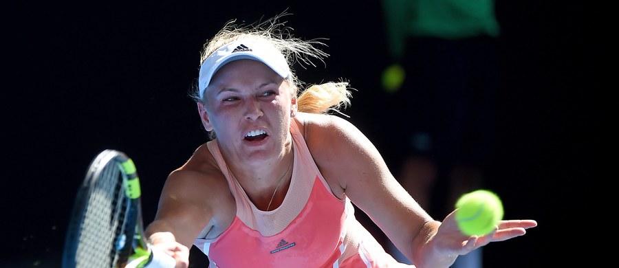 """Tenisistka polskiego pochodzenia Caroline Wozniacki będzie chorążym reprezentacji Danii na igrzyskach olimpijskich w Rio de Janeiro. """"To wielki zaszczyt i jeden z najważniejszych punktów w mojej karierze, którego nigdy w życiu nie zapomnę"""" - powiedziała zawodniczka."""