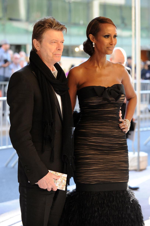 Po raz pierwszy od śmierci swojego męża Davida Bowie w serwisach społecznościowych udzieliła się Iman, była supermodelka.