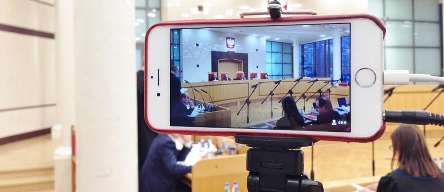 Prokuratura ustaliła tożsamość osoby, która pod koniec listopada przez internet groziła sędziom Trybunału Konstytucyjnego. Jak dowiedział się reporter RMF FM,  osobie tej nie postawiono jednak zarzutów.