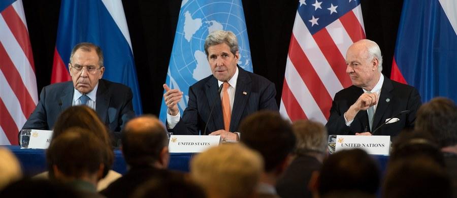 """Światowe mocarstwa osiągnęły w Monachium porozumienie w sprawie planu, który ma przełamać impas w syryjskim konflikcie - podała w nocy agencja Reutera. """"W ciągu tygodnia rozpocznie się stopniowe ograniczanie działań wojennych"""" - zapowiedział sekretarz stanu USA John Kerry."""