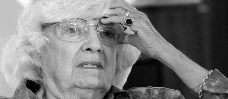 """Nie żyje słynna polska projektantka mody i scenografka Xymena Zaniewska - informuje """"Rzeczpospolita"""". Miała 91 lat."""