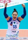Katarzyna Zaroślińska najlepszą zawodniczką pierwszej rundy play off Ligi Mistrzyń