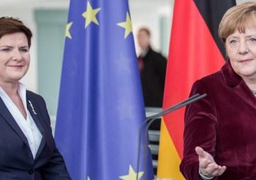Beata Szydło po spotkaniu z Angelą Merkel: Wstęp do dobrych relacji w przyszłości