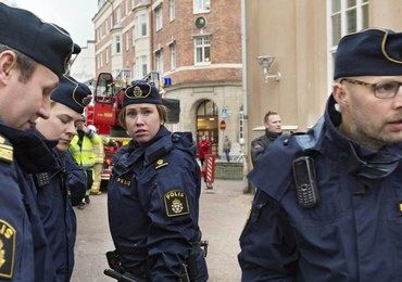 100 Polaków manifestowało przed szwedzkim sądem. Wyraz solidarności z aresztowanymi rodakami