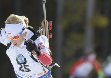 PŚ w biathlonie: Krystyna Guzik na 4. miejscu w biegu na dochodzenie