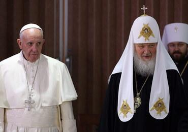 """Ukraińcy krytykują spotkanie Franciszka z Cyrylem. """"Papież legitymizuje działania Rosji"""""""