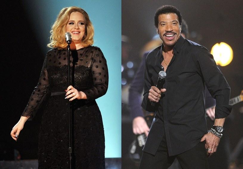 """Podczas tegorocznej ceremonii Grammy 2016 doszło do wyczekiwanego spotkania Adele i Lionela Richie, których losy splotły się po premierze singla Brytyjki """"Hello"""". Internauci porównywali jej utwór z przebojem Richiego, a para muzyków mówiła nawet o możliwości współpracy."""