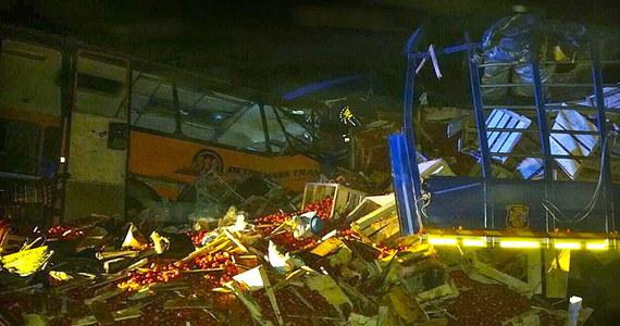 Aż 71 osób zginęło, a 13 zostało ciężko rannych w czołowym zderzeniu autokaru z ciężarówką, do którego doszło w Ghanie, 420 km na północ od Akry. To jeden z najtragiczniejszych w skutkach wypadków w tym kraju.