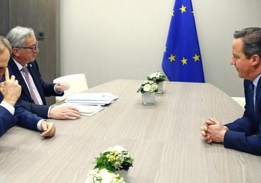 """Unijne rozmowy w sprawie Brexitu. Tusk przedstawi tekst kompromisu na """"angielskim obiedzie"""""""