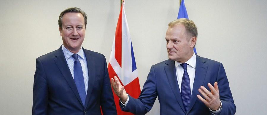 Jest porozumienie w sprawie zmiany warunków członkostwa Wielkiej Brytanii w UE. Szef Rady Europejskiej Donald Tusk poinformował w piątek wieczorem, że obradujący w Brukseli unijni przywódcy poparli propozycję kompromisu.