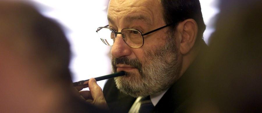 We wtorek w Mediolanie odbędzie się ceremonia pożegnania Umberto Eco. Słynny pisarz zmarł w wieku 84 lat - podały włoskie media, powołując się na rodzinę pisarza. Miejscem świeckiej uroczystości będzie Zamek Sforzów.