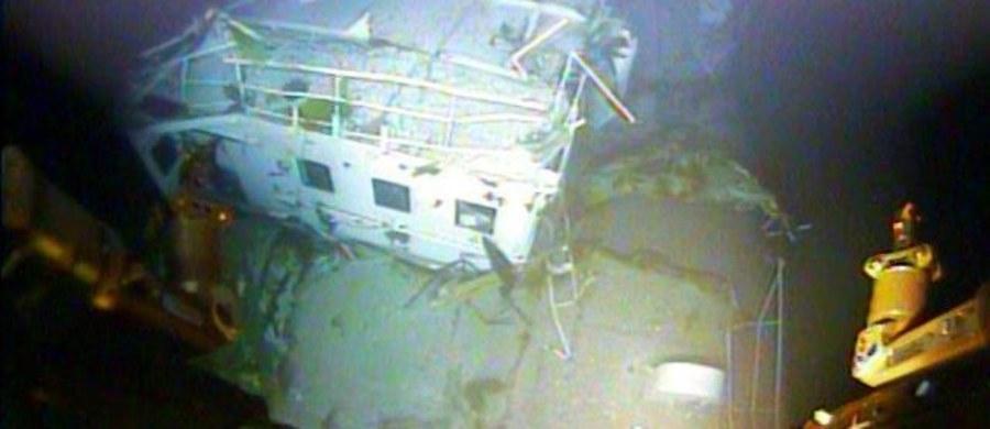 """Były pierwszy oficer-mechanik zaginionego na początku października koło Wysp Bahama kontenerowca """"El Faro"""" oświadczył, że pięciu Polaków uczestniczących w ostatnim rejsie tego statku nie było zatrudnionych przy pracach remontowych w maszynowni. Amerykańska Straż Przybrzeżna oraz Narodowa Rada Bezpieczeństwa Transportu starają się ustalić, co działo się w ostatnich minutach rejsu, kiedy jednostka wpadła w centrum huraganu Joaquin."""