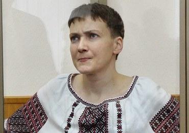 Sąd odroczył ostatnie słowo Nadii Sawczenko. Głodująca od grudnia lotniczka przestaje pić