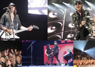 """To było prawdziwe show! Na scenie Tauron Areny Kraków wystąpiła grupa """"Scorpions"""""""