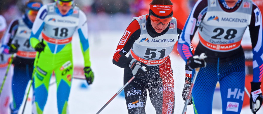 Justyna Kowalczyk zajęła 17. miejsce w biegu na dochodzenie na 10 km techniką dowolną w Quebec City - czwartej konkurencji cyklu Ski Tour Canada, który wieńczy sezon 2015/16 narciarskiego Pucharu Świata. Wygrała Norweżka Heidi Weng.