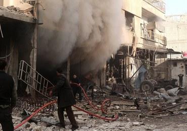 Krwawy atak na Aleppo w Syrii. Ostrzelano z moździerzy targowisko
