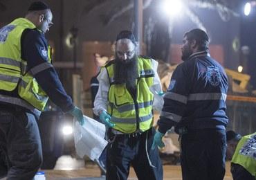 Atak nożownika w Tel Awiwie. Nie żyje amerykański turysta, kilkanaście osób jest rannych
