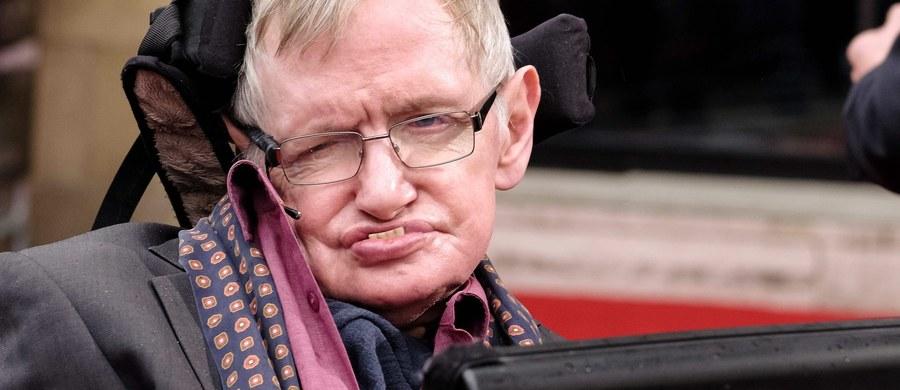 Słynny brytyjski astrofizyk i kosmolog Stephen Hawking podczas opublikowanego we wtorek nagrania powiedział, że w latach szkolnych zdarzało mu się być leniwym i nie uzyskiwał najlepszych wyników w nauce.