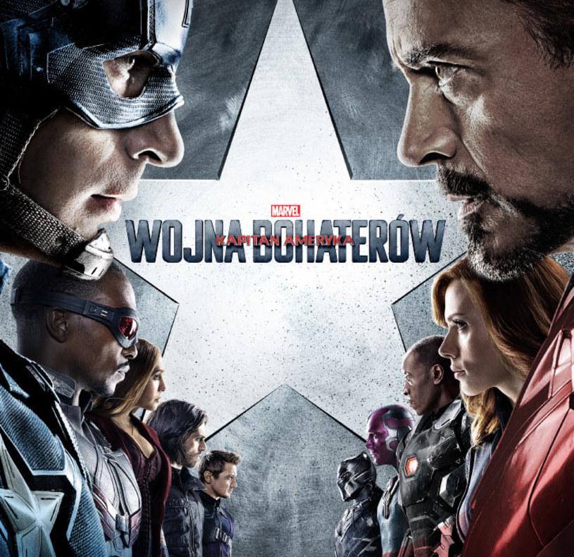 """6 maja na ekrany kin trafi film """"Kapitan Ameryka: Wojna bohaterów"""". Marvel udostępnił właśnie kolejny zwiastun obrazu."""