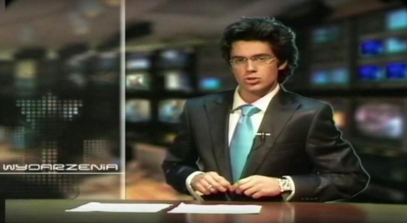 Krystian Kukułka, zanim został aktorem, prowadził program informacyjny!