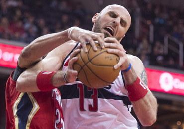 Liga NBA – Słaby mecz Gortata. Wizards odniosło piątą porażkę z rzędu