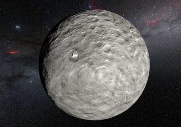 Plamy na Ceres jeszcze bardziej zagadkowe