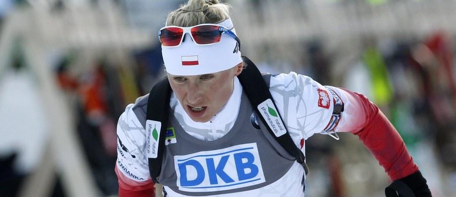 Krystyna Guzik zajęła 19. miejsce w sprincie na 7,5 km biathlonowego Pucharu Świata w rosyjskim Chanty-Mansyjsku. Zwyciężyła - po raz 18. w karierze - Finka Kaisa Makarainen. Druga była liderka klasyfikacji generalnej Czeszka Gabriela Soukalova.