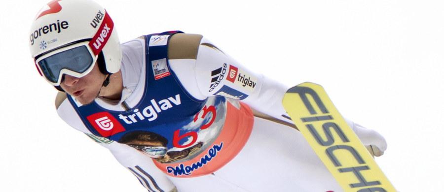 Dopiero 17. miejsce zajął najlepszy z Polaków Maciej Kot w konkursie Pucharu Świata na mamuciej skoczni w słoweńskiej Planicy. Zwyciężył reprezentant gospodarzy Robert Kranjec. Drugie miejsce zajął jego rodak, triumfator Pucharu Świata w kończącym się sezonie Peter Prevc, a trzecie - Norweg Johann Andre Forfang.