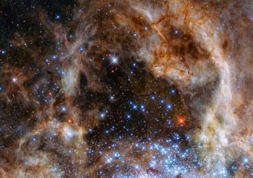 Teleskop Hubble'a zbadał niezwykłe skupisko gwiazd - olbrzymów