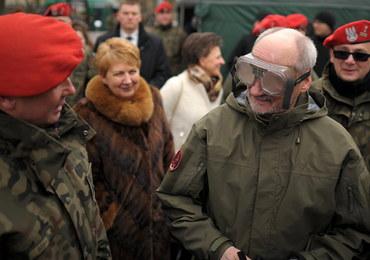 Macierewicz: Obrona terytorialna będzie pełnoprawną częścią armii polskiej