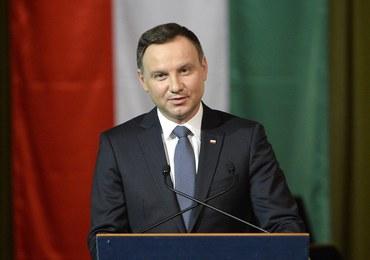 """Prezydent Duda odznaczył Węgrów. """"Uczciwy naród nigdy nie zapomina o braterstwie"""""""
