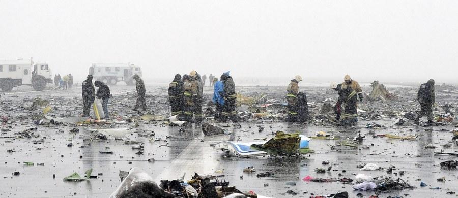 62 osoby, w tym siedmioro członków załogi, zginęło w katastrofie samolotu podczas próby lądowania na lotnisku w Rostowie nad Donem w południowej Rosji. Rozważane przyczyny wypadku to: pogoda, awaria techniczna lub błąd załogi. Służby ratownicze poinformowały, że odnaleziono już obie czarne skrzynki, które pozostały nienaruszone i będą poddane analizie w Moskwie.
