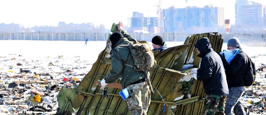 Czarne skrzynki samolotu linii FlyDubai, który rozbił się na lotnisku w Rostowie nad Donem, są silnie uszkodzone - poinformował rosyjski Międzypaństwowy Komitet Lotniczy (MAK). Do końca dnia będzie jasne, w jakim stanie są dane z obu rejestratorów.