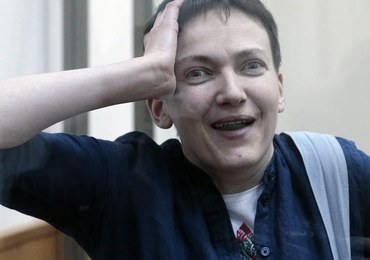 Nadia Sawczenko skazana na 22 lata więzienia przez sąd w Doniecku