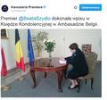 """Beata Szydło o zamachach w Brukseli: Trzeba powiedzieć """"dość"""""""