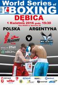 WSB: Hussars Poland - Argentina Condors 1 kwietnia w Dębicy