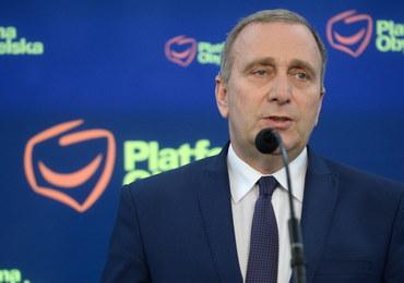 Grzegorz Schetyna: Polska przyjmuje w życiu publicznym standardy putinowskie
