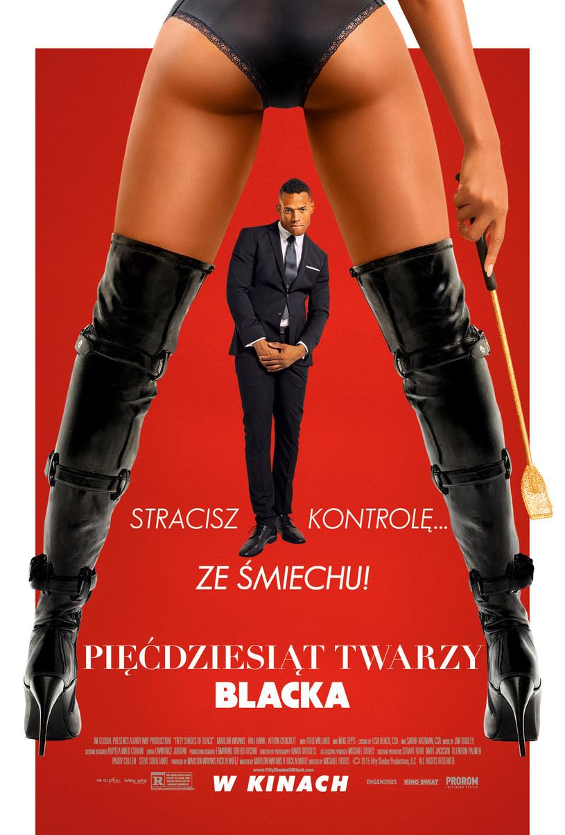 """Dystrybutor filmu """"Pięćdziesiąt twarzy Blacka"""" zaprezentował nowy oficjalny plakat komediowej produkcji Marlona Wayansa."""