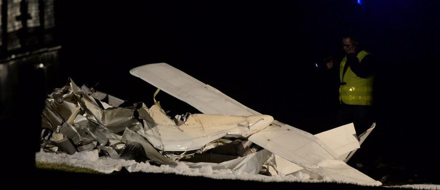 Tragiczny wypadek w Chmielewie na Mazowszu. Na ziemię runęła awionetka. Są ofiary śmiertelne - to 30-letni instruktor i 35-letni uczeń.