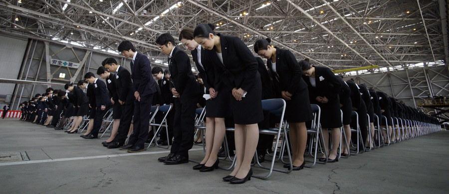 """Japonia odnotowuje rekordowo wysoką liczbę osób, które zdaniem krewnych, zapracowały się na śmierć. Ten fenomen nazywa się """"karoshi""""."""